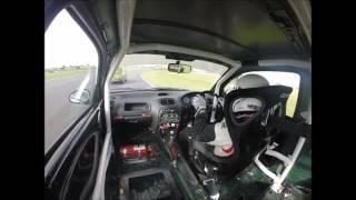 MGCC Snetterton race 2 finish October 2nd 2016 Dave Thompson