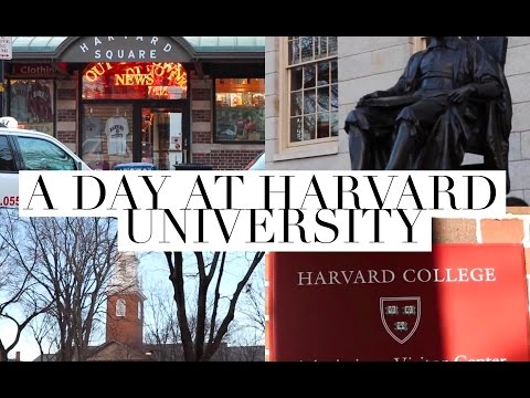 A DAY AT HARVARD