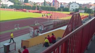 100m Croatian Championship U23 (Men semi finals & final)
