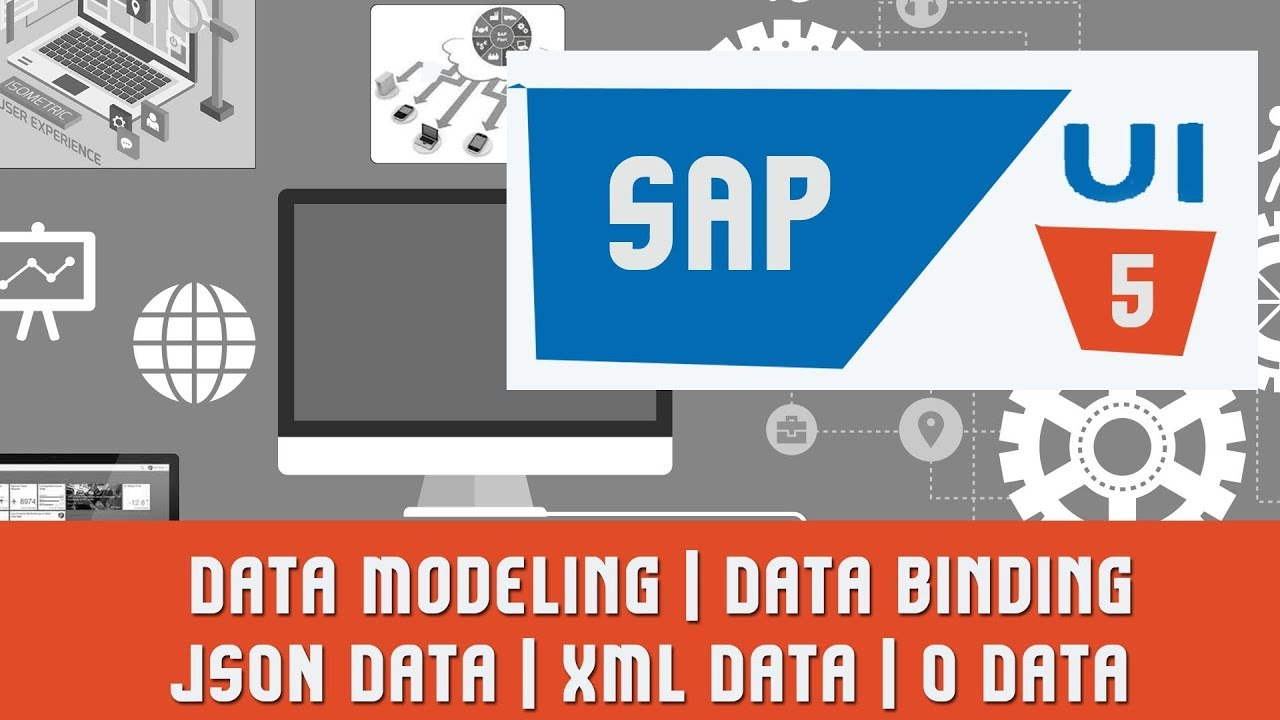 SAPUI5 Tutorials | SAPUI5 Project | Data Modeling | Data binding | JSON  Data | XML Data | O Data