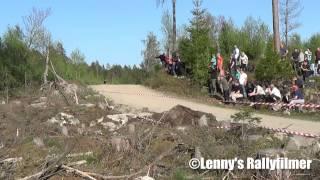 Rally - Kong Christian Race 2014 *Rullning* Avåkning* Kriser* HD-Kvalite*