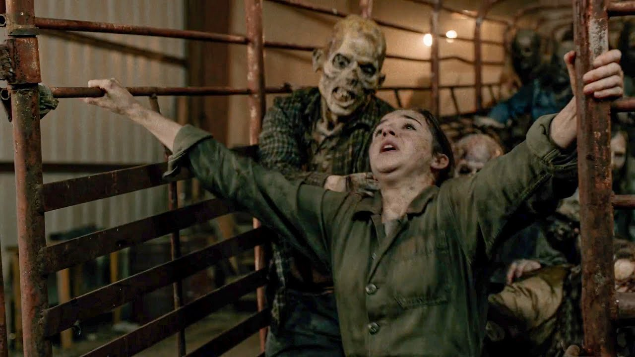 Download Clearing The Warehouse From Walkers - Fear The Walking Dead 6x02