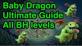 Clash of Clans Builder Base- Baby Dragons Attack Strategy Ultimate guide(All BH levels)