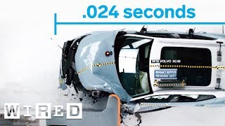 Why Cars Are Built to Make a Crash Last Longer (180°) | Damage Control | WIRED