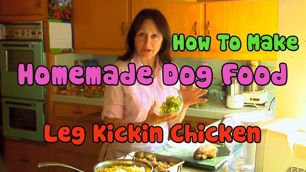 Leg kickin chicken homemade dog food dog gone good youtube forumfinder Gallery