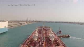 Jeddah Islamic port approach (time laps) ???? ???? ?????? ???? ????? ?????? ??? ????????