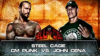 WWE 13: CM Punk vs. John Cena - Steel Cage Match