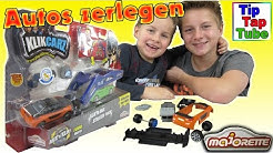 KLIKCARZ Auto Montage Set von Majorette Spielzeug Unboxing Video + Zuschauer Grüße Kinder Kanal