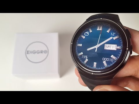 2017 Power Android Smart watch - DIGGRO DI06 - QUAD CORE - 16GB - AMOLED