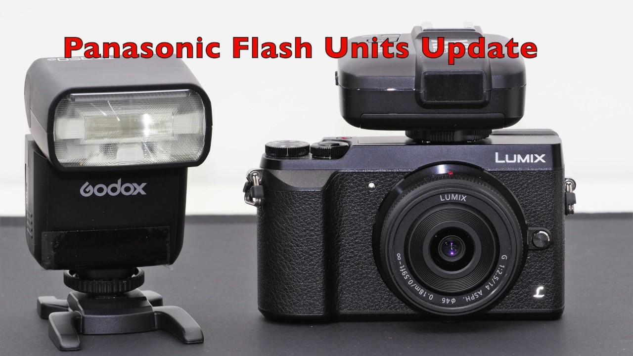 Flash Units for Panasonic Lumix Cameras - Update