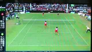 2012年天皇杯ソフトテニス選手権決勝女子パート2
