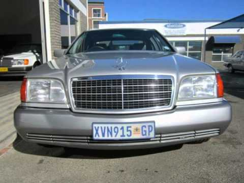 1994 MERCEDES-BENZ S-CLASS S500 Auto For Sale On Auto Trader South Africa - YouTube