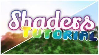 Minecraft Shaders Tutorial | HOW TO GET SHADERS FOR 1.11.2, 1.11, 1.9, 1.8, 1.8.9, 1.12 AND 1.10