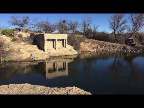 Renovation of the spring in Big Spring, TX