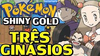 Pokémon Shiny Gold Sigma (Detonado - Parte 39) - Morty, Chuck e Jasmine!