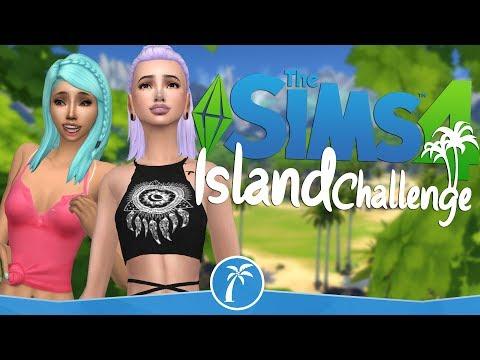 """🌴The Sims 4 Island Challenge #1 - ,,Głupi ma zawsze szczęście"""" ;)"""