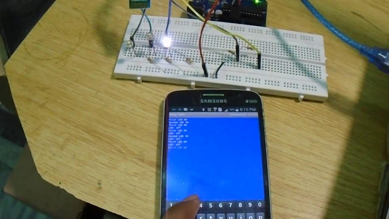 HC-05 Bluetooth Module interfacing with Arduino - Arduino