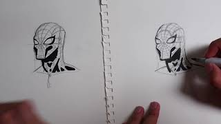 I Taught My Best Friend How to Draw Spiderman - IMPROVES INSTANTLY! (Step by Step Tutorial)