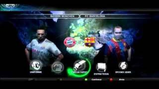 Pro Evolution Soccer 2011 - Pes 2011 Gameplay video PC
