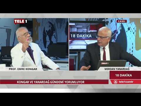 18 Dakika - Merdan Yanardağ & Emre Kongar (27 Nisan 2018) | Tele1 TV