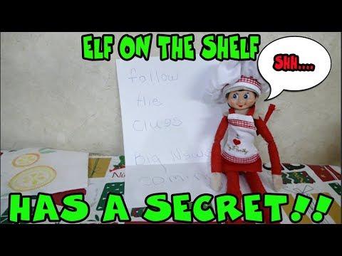 Elf On The Shelf Has A Secret! The Doll Maker Was  Watching ME! Elf On The Shelf Scavenger Hunt!