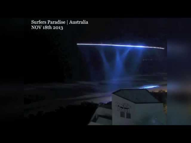 Amazing best UFO OVNI over Australia Nov 18th 2013 (Possibly portals) Videos De Viajes
