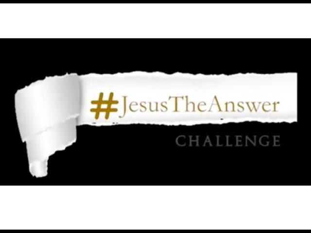 #JesusTheAnswer  FULLY LOADED