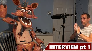 Real fnaf Foxy Interview - Part 1