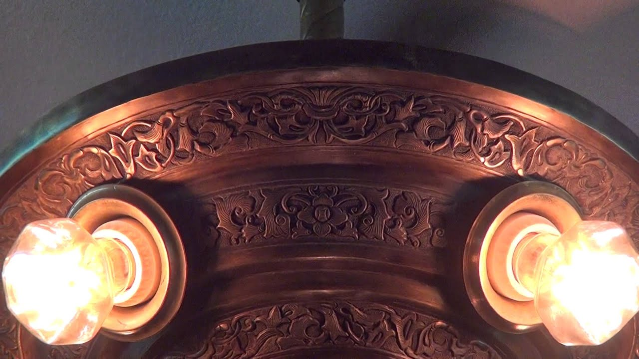 LeVelle birdwing ornate ceiling fan