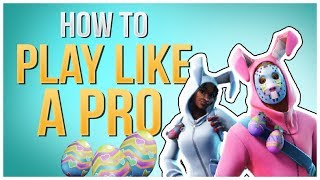 HOW TO WIN | Pro Player Tips and Guide (Fortnite Battle Royale)
