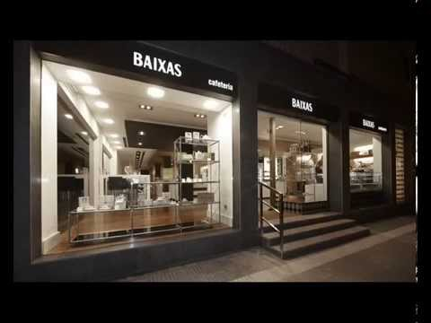 Interior design and shop fitting of pâtisserie BAIXAS. Barcelona