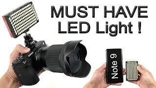 Best LED Film Light | Brightest Mini LED on the Market | MUST HAVE! (Aputure MX) [4K] 60fps