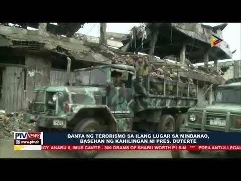 Isang taong martial law extension sa Mindanao, pormal nang hiniling ni Pangulong Duterte