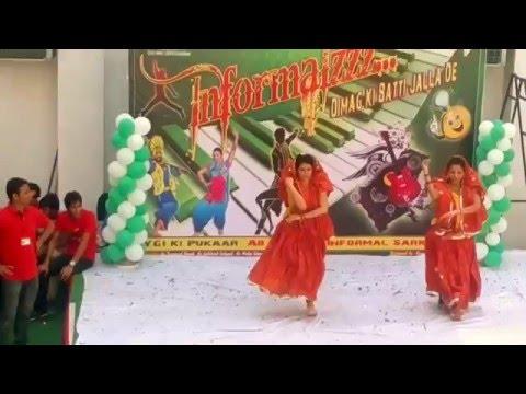 ayo re ayo re maro dholna dance in YIET...