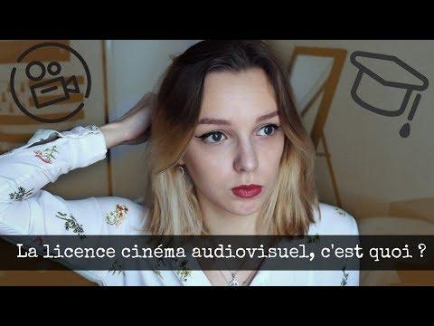 Tout sur la licence cinéma et audiovisuel !  🎞️🎬