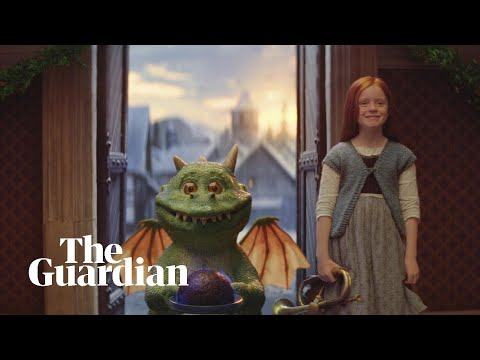 Watch Edgar The Dragon In Joint John Lewis/Waitrose Christmas Advert