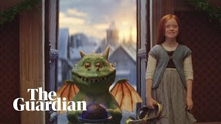 Watch Edgar the dragon in joint John LewisWaitrose Christmas advert