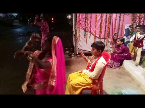 Tannak Chay Banan Do Re Bhajan Song Dance With POOJA KUSHWAH, Sakshi Kushwah And Yash Kushwah