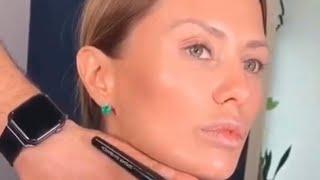 Скульптурирование лица, видео урок по мейк апу #ВикторияБоня