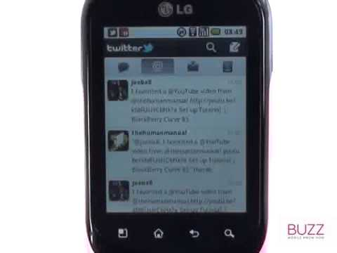 Twitter | LG Optimus Chat | The Human Manual