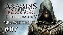 """AC4: Black Flag - DLC - Freedom Cry - PART 7 """"Incognito"""" / 100% Completionist"""