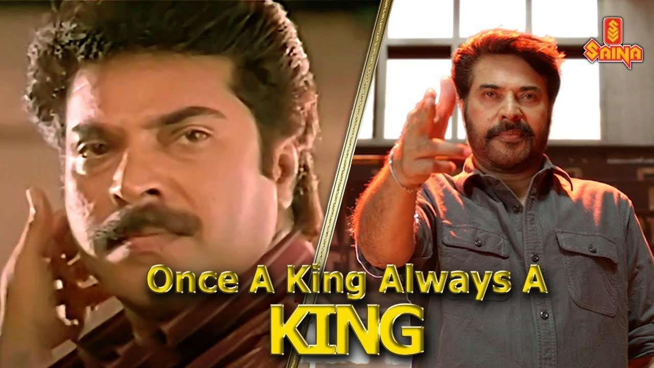 Download Once A King Always A King | Mammootty Mass Mashup | Saina
