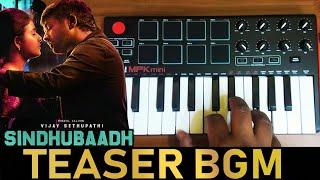Sindhubaadh Mass Teaser Bgm Cover By Raj Bharath | Vijay Sethupathi, | Yuvan Shankar Raja |