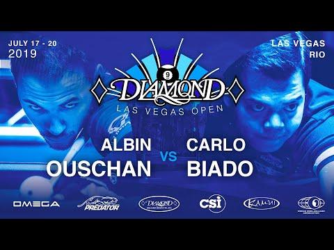 Albin Ouschan Vs Carlo Biado | 2019 Diamond Las Vegas Open