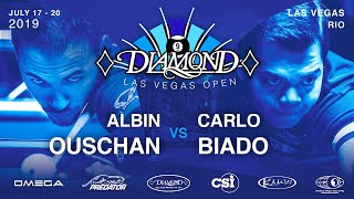 2019 Diamond Las Vegas Open:  Albin Ouschan vs Carlo Biado
