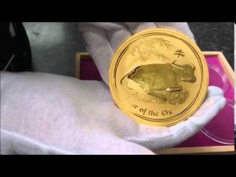 Lunar Year Of The Ox 10oz Gold Coin
