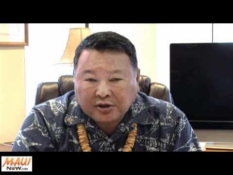 Maui Mayor Discusses HSAC - June 27, 2011