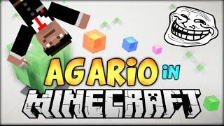 JOUE A AGAR.IO DANS MINECRAFT !! - AGAR.IO MOD Minecraft 1.8 [FR] [HD]