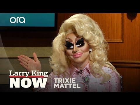 Trixie Mattel teaches Larry the art of...