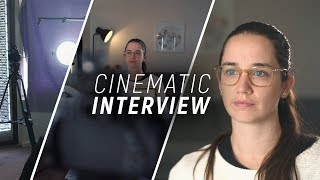 Budget Cinematic Interview Setup In Under 3 Minutes